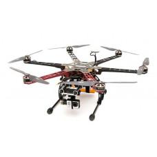 Гексакоптер DJI F550 + контроллер NAZA-M V2 + подвес H3-3D + шасси
